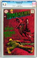 Silver Age (1956-1969):Adventure, Tomahawk #116 Savannah pedigree (DC, 1968) CGC NM- 9.2 Off-white pages....