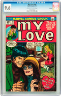 Bronze Age (1970-1979):Romance, My Love (2nd series) #29 Savannah pedigree (Marvel, 1974) CGC NM+9.6 Off-white to white pages....