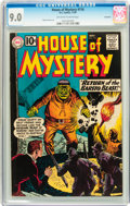 Silver Age (1956-1969):Mystery, House of Mystery #116 Savannah pedigree (DC, 1961) CGC VF/NM 9.0Off-white to white pages....