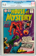 Silver Age (1956-1969):Science Fiction, House of Mystery #117 Savannah pedigree (DC, 1961) CGC VF/NM 9.0White pages....
