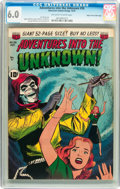 Golden Age (1938-1955):Horror, Adventures Into The Unknown #26 Mile High pedigree (ACG, 1951) CGCFN 6.0 Off-white to white pages....