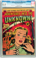 Golden Age (1938-1955):Horror, Adventures Into The Unknown #22 Mile High pedigree (ACG, 1951) CGCVF 8.0 Off-white to white pages....
