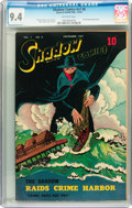 Golden Age (1938-1955):Crime, Shadow Comics V7#8 (Street & Smith, 1947) CGC NM 9.4 Off-white pages....