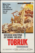 "Movie Posters:War, Tobruk Lot (Universal, 1967). One Sheets (3) (27"" X 41""). War.. ...(Total: 3 Items)"