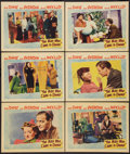 """Movie Posters:Comedy, The Man Who Came to Dinner (Warner Brothers, 1942). Lobby Cards (6)(11"""" X 14""""). Comedy.. ... (Total: 6 Items)"""