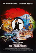 "Movie Posters:James Bond, The Living Daylights (United Artists, 1987). British One Sheet (27""X 40"") Style A. James Bond.. ..."