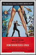 "Movie Posters:James Bond, For Your Eyes Only (United Artists, 1981). International One Sheet (27"" X 41""). James Bond.. ..."