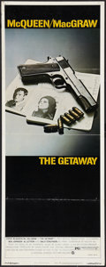"""Movie Posters:Action, The Getaway (National General, 1972). Insert (14"""" X 36""""). Action....."""