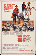 "Movie Posters:Western, The Good, the Bad and the Ugly (United Artists, 1968). Poster (40"" X 60""). Western.. ..."