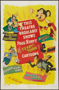 "Movie Posters:Animated, Terry-Toons Stock (20th Century Fox, 1950). One Sheet (27"" X 41""). Animated.. ..."