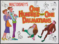 "Movie Posters:Animated, 101 Dalmatians (Buena Vista, 1961). British Quad (30"" X 40""). Animated.. ..."