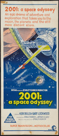 """Movie Posters:Science Fiction, 2001: A Space Odyssey (MGM, 1968). Australian Daybill (13"""" X 29.75""""). Science Fiction.. ..."""