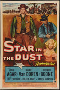 "Movie Posters:Western, Star in the Dust (Universal International, 1956). One Sheet (27"" X 41""). Western.. ..."