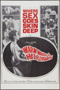 "Movie Posters:Sexploitation, Warm Nights and Hot Pleasures (Audubon, 1964). One Sheet (26.75"" X40""). Sexploitation.. ..."
