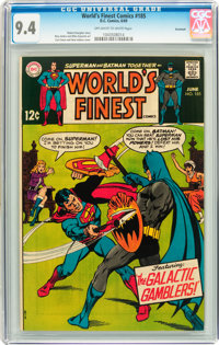 World's Finest Comics #185 Savannah pedigree (DC, 1969) CGC NM 9.4 Off-white to white pages