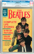 Silver Age (1956-1969):Humor, Beatles #1 Savannah pedigree (Dell, 1964) CGC FN/VF 7.0 Light tan to off-white pages....