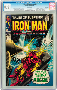 Tales of Suspense #99 Twin Cities pedigree (Marvel, 1968) CGC NM- 9.2 White pages