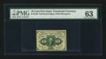 Fractional Currency:First Issue, Fr. 1240 10¢ First Issue PMG Choice Uncirculated 63.. ...