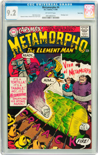 Metamorpho #4 Twin Cities pedigree (DC, 1966) CGC NM- 9.2 Off-white pages