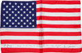 Transportation:Space Exploration, Apollo 10 Flown Crew-Signed Largest Size American Flag Originally from the Personal Collection of Mission Commander Tom Staffo...