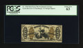 Fractional Currency:Third Issue, Fr. 1358 50¢ Third Issue Justice PCGS Choice New 63.. ...