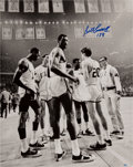 "Basketball Collectibles:Photos, Bill Russell ""178"" Signed Oversized Photograph. ..."