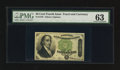 Fractional Currency:Fourth Issue, Fr. 1379 50¢ Fourth Issue Dexter PMG Choice Uncirculated 63.. ...
