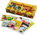 "Non-Sport Cards:Sets, 1966 Donruss ""Marvel Super Heroes"" Near Set (62/66) Plus CounterDisplay Box. ..."