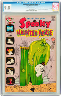 Spooky Haunted House #1 File Copy (Harvey, 1972) CGC NM/MT 9.8 Off-white to white pages