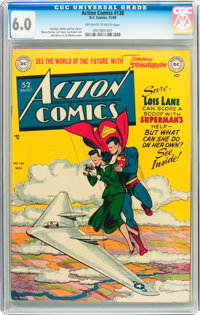 Action Comics #138 (DC, 1949) CGC FN 6.0 Off-white to white pages