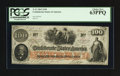 Confederate Notes:1862 Issues, John Boston Issuer T41 $100 1862.. ...