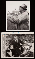 Football Collectibles:Others, Vince Lombardi Original Photographs and Packers Memorabilia from Former Team Scout - Lew Anderson....