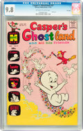 Bronze Age (1970-1979):Cartoon Character, Casper's Ghostland #57 File Copy (Harvey, 1970) CGC NM/MT 9.8Off-white to white pages....