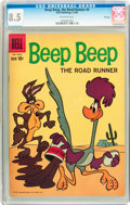 Silver Age (1956-1969):Cartoon Character, Beep Beep, The Road Runner #4 File Copy (Dell, 1960) CGC VF+ 8.5 Off-white pages....