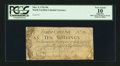 Colonial Notes:North Carolina, North Carolina March 9, 1754 10s PCGS Apparent Very Good 10.. ...