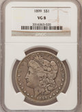 Morgan Dollars: , 1899 $1 VG8 NGC. NGC Census: (7/7223). PCGS Population (4/9961).Mintage: 330,846. Numismedia Wsl. Price for problem free N...