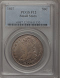 Bust Half Dollars: , 1807 50C Capped Bust, Small Stars Fine 12 PCGS. PCGS Population(6/66). Numismedia Wsl. Price for probl...