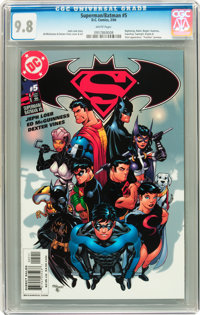 Superman/Batman #5 Savannah pedigree (DC, 2004) CGC NM/MT 9.8 White pages