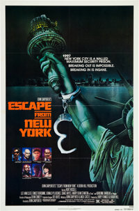 "Escape from New York (Avco Embassy, 1981). One Sheet (27"" X 41"") Advance"