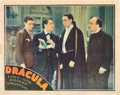 "Movie Posters:Horror, Dracula (Spanish Adaptation) (Universal, 1931). Lobby Card (11"" X14"").. ..."