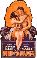 "Movie Posters:Adventure, Bird of Paradise (RKO, 1932). Die-Cut Double-Sided Mobile (11"" X18"").. ..."
