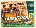 "Movie Posters:Science Fiction, Tarantula (Universal International, 1955). Half Sheet (22"" X 28"").Style B.. ..."