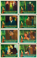 """Movie Posters:Horror, House on Haunted Hill (Allied Artists, 1959). Lobby Card Set of 8(11"""" X 14"""").. ... (Total: 8 Items)"""