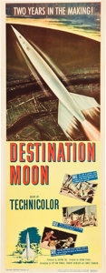 "Movie Posters:Science Fiction, Destination Moon (Pathé, 1950). Insert (14"" X 36"").. ..."