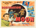 "Movie Posters:Science Fiction, Destination Moon (Pathé, 1950). Half Sheet (22"" X 28"").. ..."