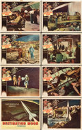 "Movie Posters:Science Fiction, Destination Moon (Pathé, 1950). Lobby Card Set of 8 (11"" X 14"")..... (Total: 8 Items)"