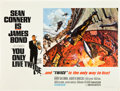 "Movie Posters:James Bond, You Only Live Twice (United Artists, 1967). British Quad (30"" X40"") Style A.. ..."