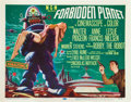 "Movie Posters:Science Fiction, Forbidden Planet (MGM, 1956). Title Lobby Card (11"" X 14"").. ..."