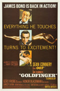 "Movie Posters:James Bond, Goldfinger (United Artists, 1964). One Sheet (27"" X 41"").. ..."