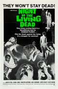 """Movie Posters:Horror, Night of the Living Dead (Continental, 1968). One Sheet (27"""" X 41"""").. ..."""